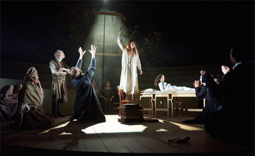 review of the crucible by arthur miller Arthur miller's the crucible might have been written as an allegory for mccarthyism but, in today's political climate, it feels sadly more relevant.