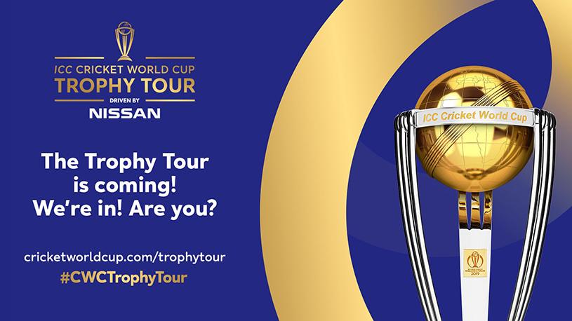 ICC World Cup Trophy comes to Bristol - DestinationBristol