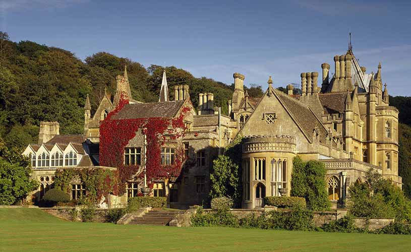 West front of Tyntesfield