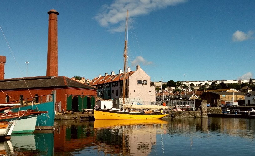 Underfall Yard on Bristol Harbourside