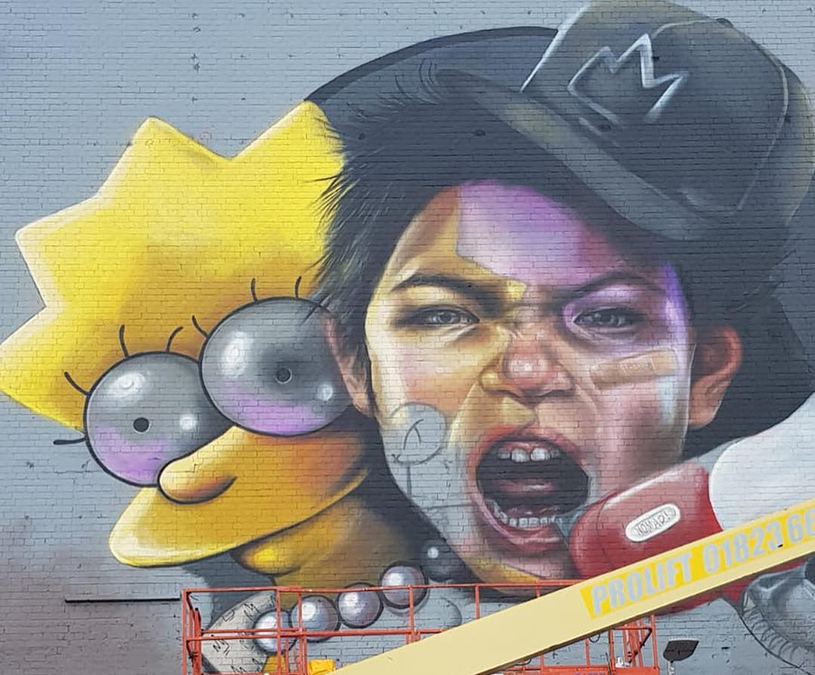 Nomad clan upfest 2018 Banksy themed weekend in Bristol