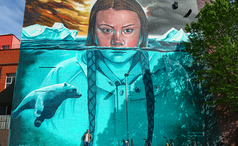 Upfest Summer Editions to inspire climate conversation with Bristol mural_ Artist Jody, Credit Neil James Brain