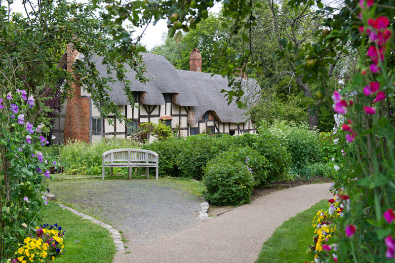 home of Shakespeare's wife.