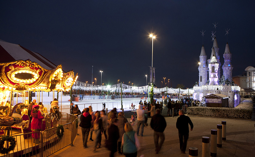Winter Wonderland Cribbs Causeway The Mall - Where to see Santa in Bristol