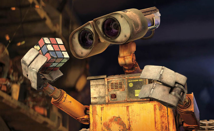 Still from WALL-E, screening at We The Curious for Bristol Film Festival
