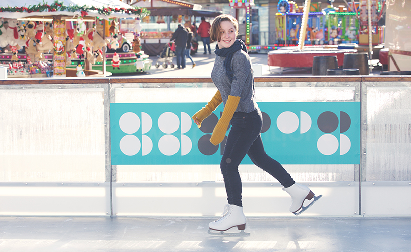 Things to do in Bristol in in November 2018 - We The Curious ice rink