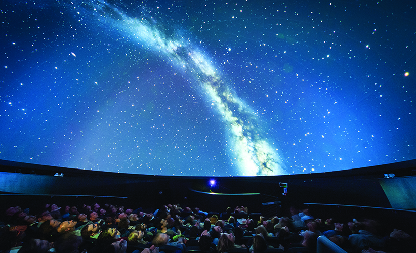 Stargazing in the We The Curious planetarium