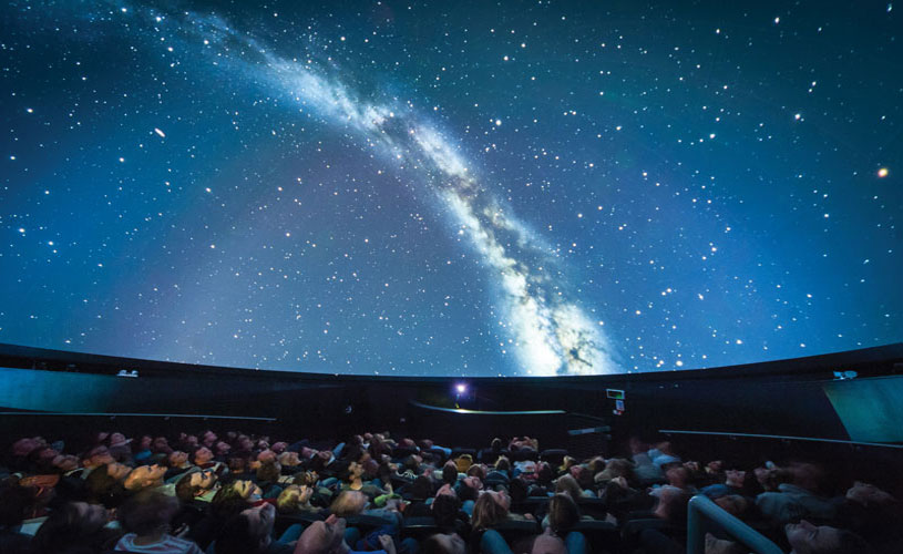 Planetarium at We The Curious, Bristol