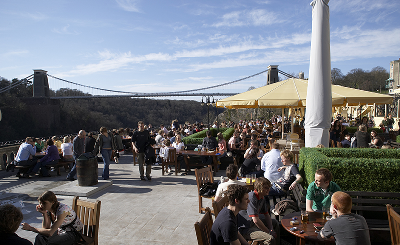 White Lion bar roof terrace - 10 rooftops bars perfect for summer drinking in Bristol