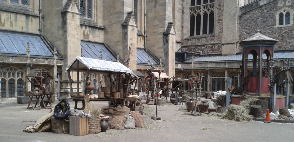 Wolf Hall at Bristol Cathedral