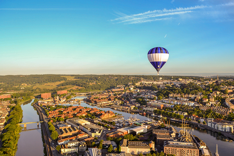 Balloon over Bristol