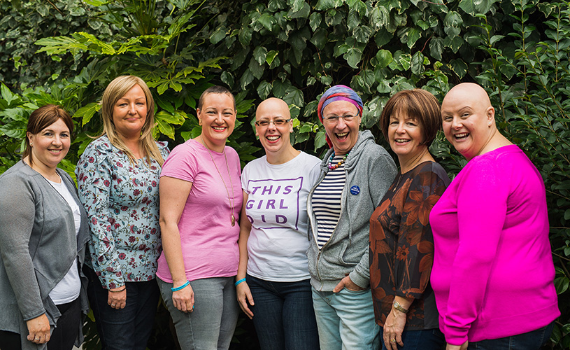 Group of ladies from Alopecia UK