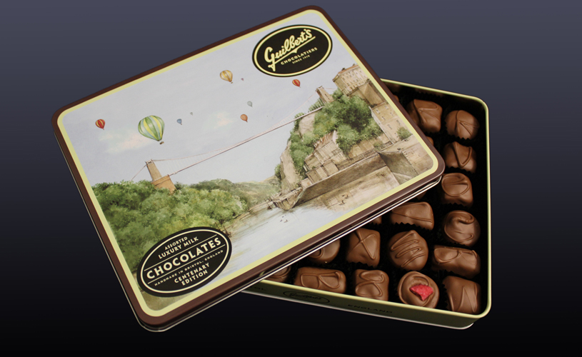 Guilbert's chocolate - ultimate bristol christmas gift guide