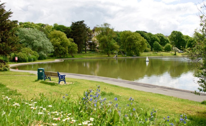 Portishead Lake Grounds - Credit North Somerset Times