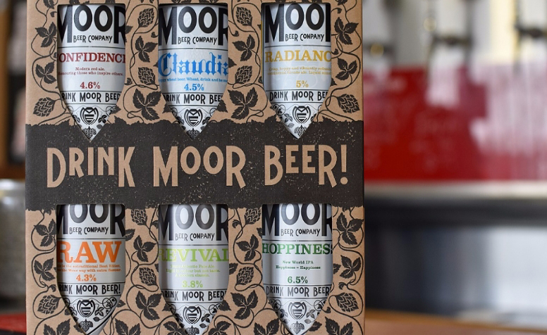 Moor Beer gift box - ultimate bristol christmas gift guide