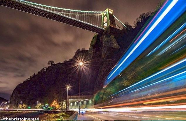 Bristol Nomad Clifton Suspension Bridge underneath