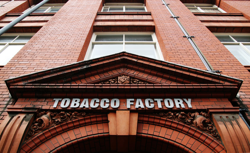 Tobacco Factory Theatres building portrait