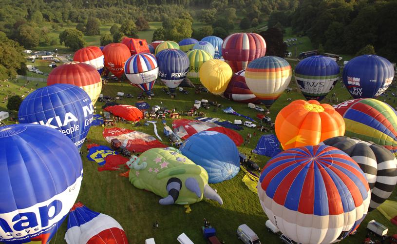 Ashton Court Bristol Balloon Fiesta Bristol Balloon Fiesta Mini