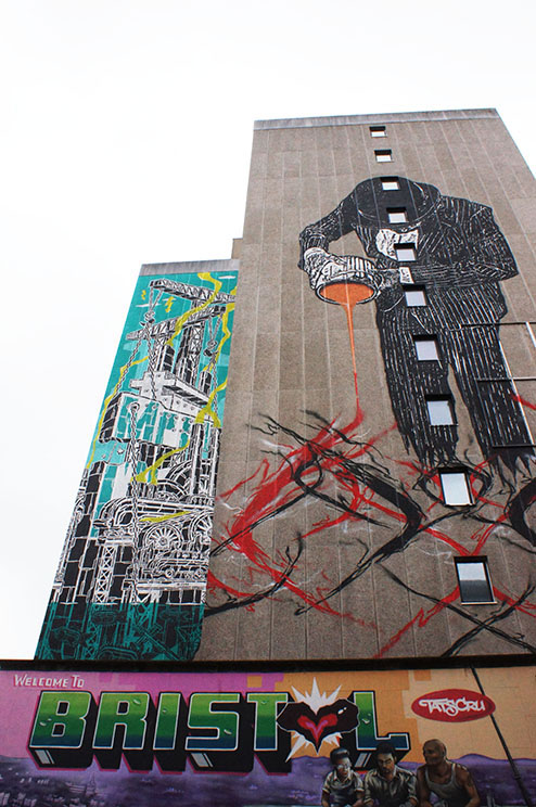 Godfather of Bristol urban art, John Nation talks to Destination