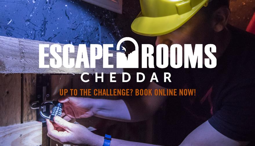 Escape Rooms at Cheddar Gorge & Caves