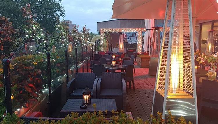 The Urban Roof Terrace At Bristol Marriott Hotel City Centre