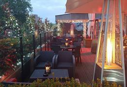 The Urban Roof Terrace at the Bristol Marriott Hotel City Centre