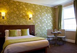 One of the rooms at the Avon Gorge Hotel
