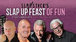 Slap up feast of fun at Colston Hall