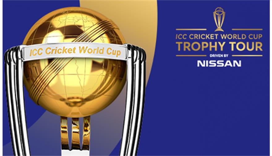 The ICC Cricket World Cup Trophy Tour at Brunel's SS Great Britain