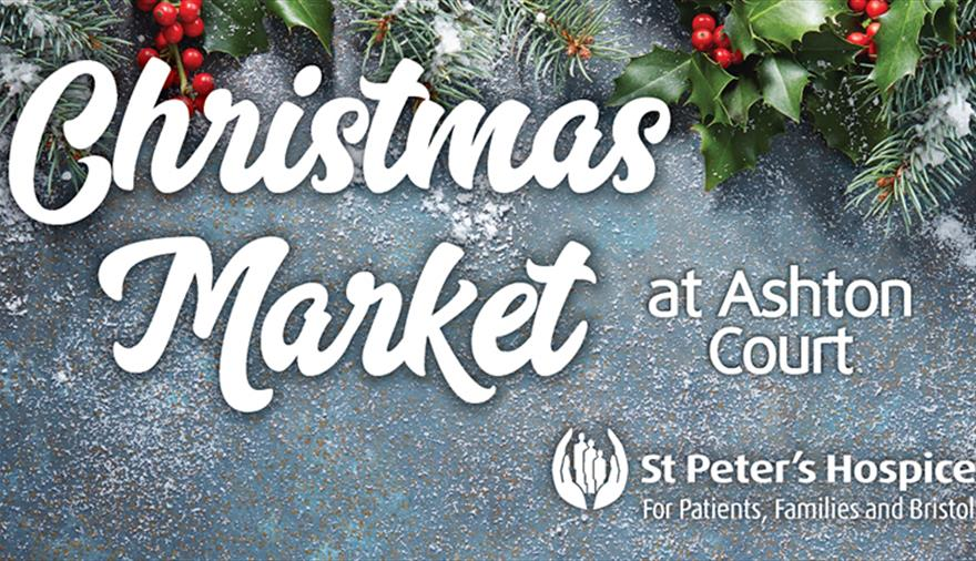 St Peters Hospice Christmas Market At Ashton Court Mansion