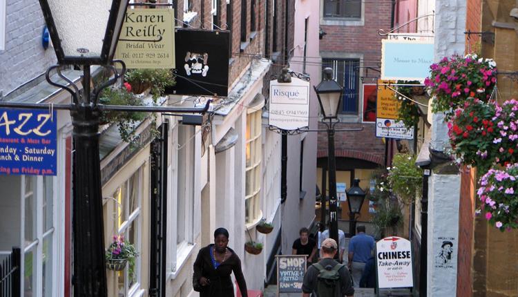 Christmas Steps Arts Quarter Visit Bristol