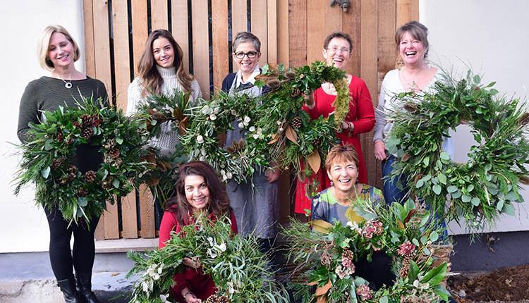 Christmas Wreath Workshop At Alchemy Gardens Visit Bristol