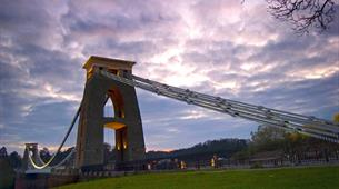 Clouds over Clifton Suspension Bridge Bristol - CREDIT GARY NEWMAN