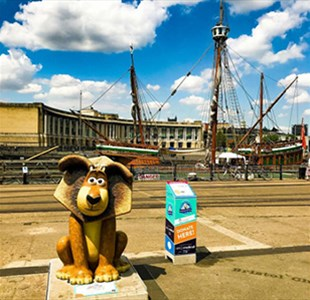 Visit Bristol's film-themed Gromit Unleashed 2 itinerary
