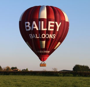 Up, up and away with Bailey Balloons