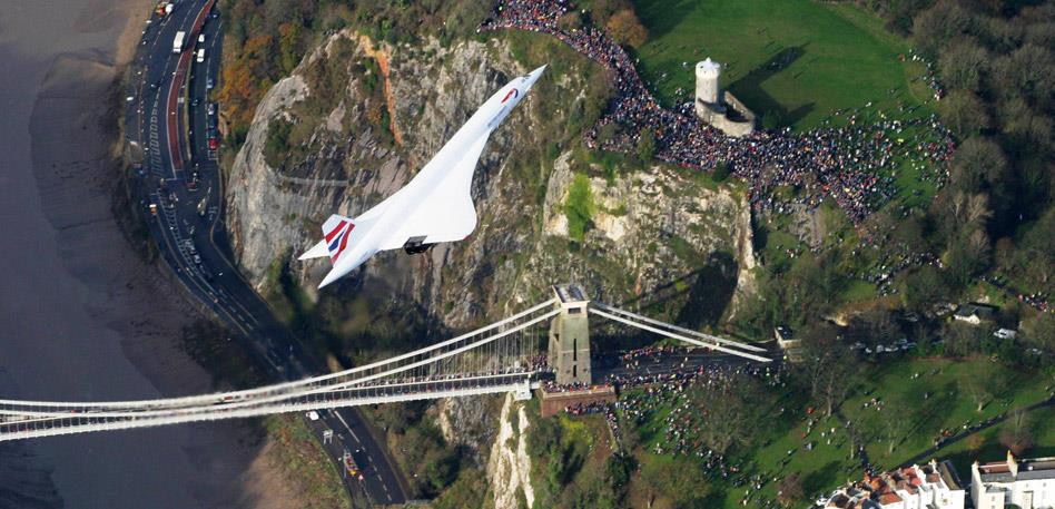 Concorde's return to Bristol