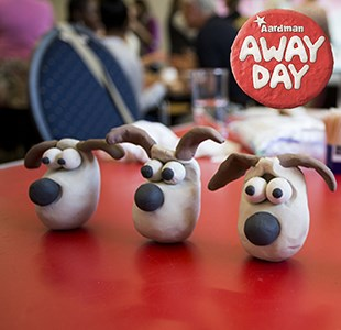 Five reasons to book your colleagues on an Aardman away day