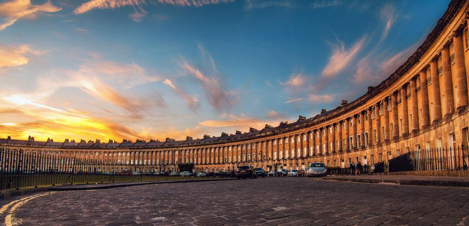 Royal Crescent - image Lloyd Evans Photography