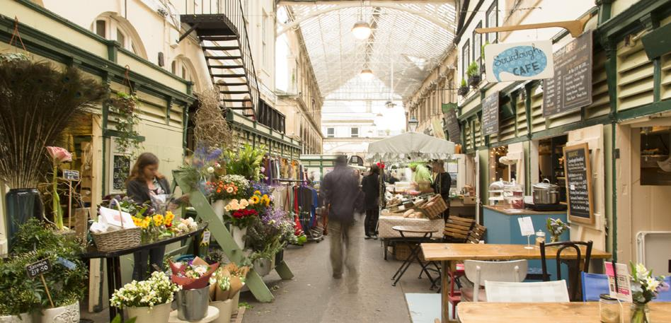 The Glass Arcade at St Nicholas Market