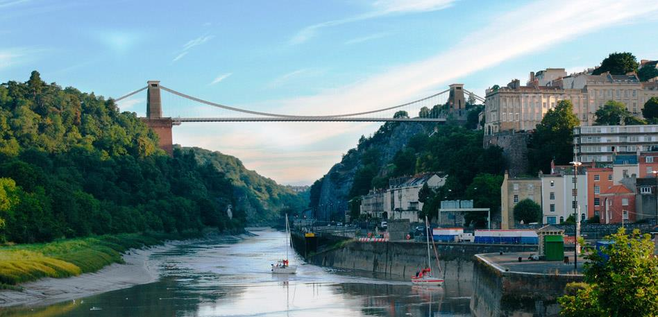 Clifton Suspension Bridge and Avon Gorge - Image Dave Pratt