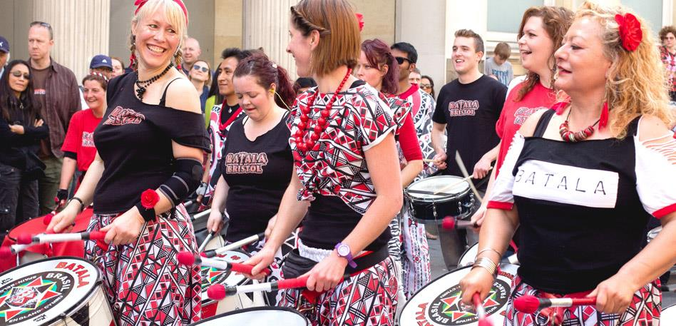Recommended for Groups in Bristol - Battala Drum Group : Credit Morgane Bigault