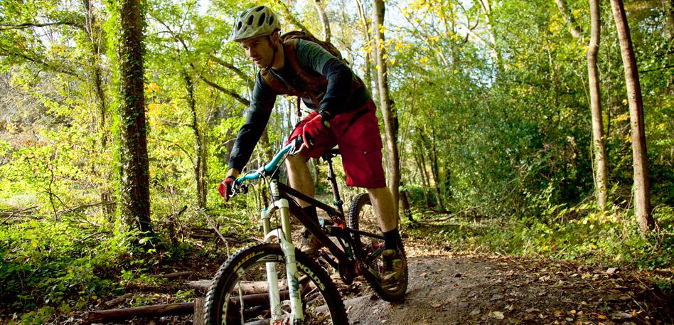Mountain Bike trails in Ashton Court