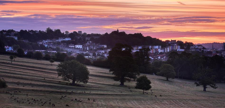 Beautiful walking trails and nearby countryside - Image Simon de Wilton