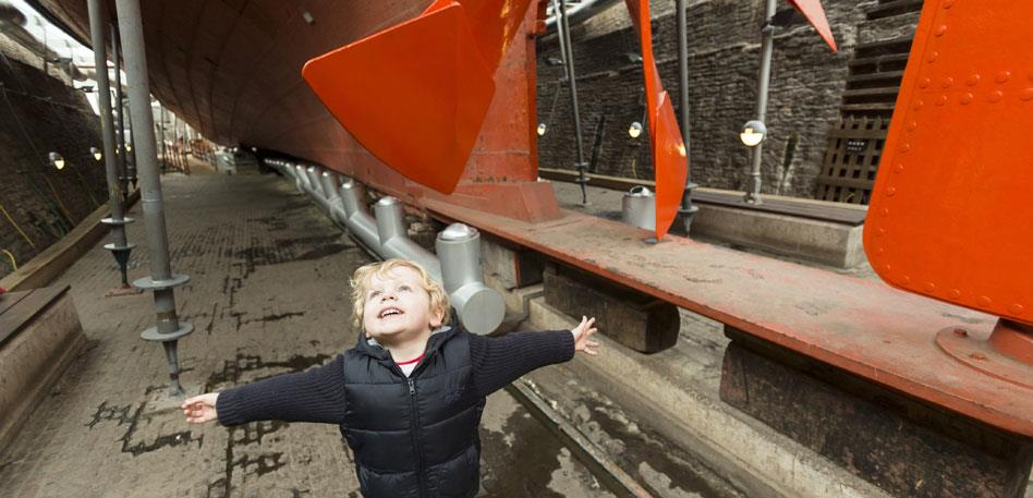 Easter in Bristol - Explore Brunel's ss Great Britain