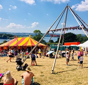 Review: Valley Fest -  organic festival-ing in the magical Mendips
