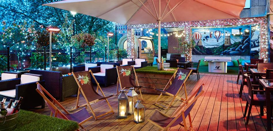 Summer Parties in Bristol - The Urban Roof Terrace at the Bristol Marriott Hotel City Centre