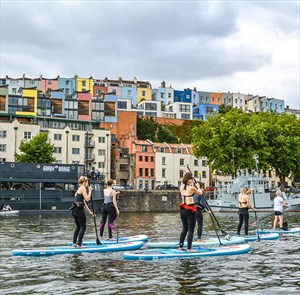 Yoga with SUP Bristol
