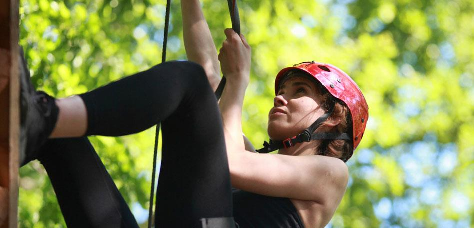 Abseiling at Wild Place Project