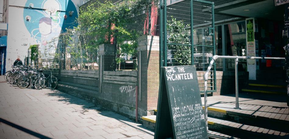The Canteen in Stokes Croft - Destination Bristol