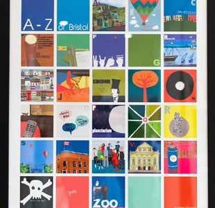 Hannah Broadway's illustrative A-Z of Bristol